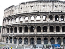 Colosseum, landmark of the old Rome Stock Photos