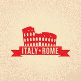 Colosseum - le symbole de Rome, Italie Images stock