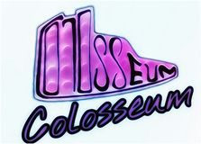 Colosseum logo Royalty Free Stock Photo