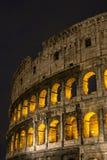 Rzym Colosseum przy nocą Obraz Royalty Free