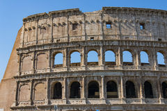 Colosseum - the main tourist attractions of Rome, Italy. Ancient Rome Ruins of Roman Civilization. Stock Photography