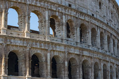 Colosseum - the main tourist attractions of Rome, Italy. Ancient Rome Ruins of Roman Civilization. Royalty Free Stock Images