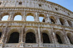 Colosseum - the main tourist attractions of Rome, Italy. Ancient Rome Ruins of Roman Civilization. Royalty Free Stock Image
