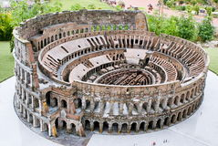 Colosseum in miniature Stock Image