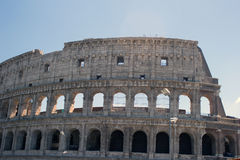 Colosseum monument. In Rome,Italy Stock Photo