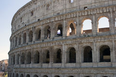 Colosseum monument. In Rome,Italy Royalty Free Stock Photos