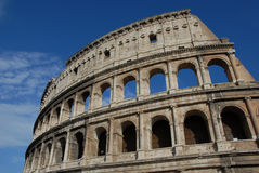 Colosseum. The most famous monument in Rome Stock Image