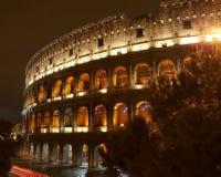 Colosseum nachts Lizenzfreie Stockfotos