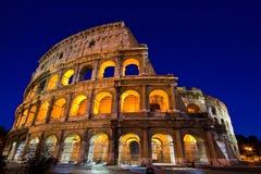 Colosseum nel crepuscolo Fotografia Stock Libera da Diritti