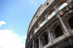 Colosseum. The Colosseum at a new angle Stock Photos