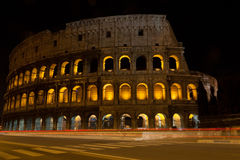 Colosseum by night (colosseo) Royalty Free Stock Photos