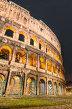 Colosseum by Night Royalty Free Stock Image