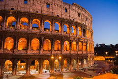 Colosseum at night. Royalty Free Stock Photography