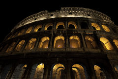 Colosseum at night, Rome Royalty Free Stock Images