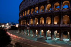Colosseum at night,Rome Royalty Free Stock Image