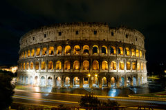 Colosseum at night, Rome Stock Photos