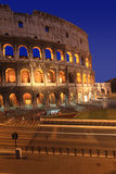 The Colosseum at night Royalty Free Stock Photo