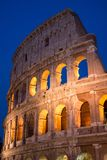 Colosseum by Night in Rome, Italy. The most famous symbol of Rome, visited yearly by millions of tourists from around the world. The most well known ancient Royalty Free Stock Image