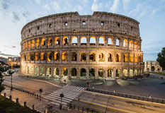 Colosseum by night, Rome, Italy. View of Colosseum by night, Rome, Italy Royalty Free Stock Photo