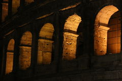 Colosseum at night. Rome, Italy. Royalty Free Stock Photography