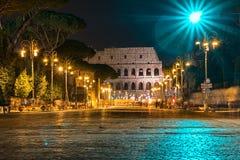 Colosseum in night Stock Photo