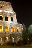 colosseum noc Rome obrazy royalty free