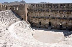 Colosseum o Amphitheatre romano largo imagens de stock royalty free