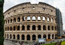 Colosseum o Flavian Amphitheatre a Roma, Italia fotografia stock