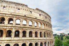 Colosseum ou Flavian Amphitheatre em Roma Italy fotografia de stock royalty free