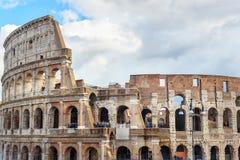 Colosseum ou Flavian Amphitheatre em Roma Italy imagens de stock royalty free