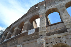 The Colosseum from the outside Royalty Free Stock Images