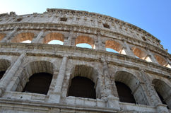 The Colosseum from the outside Stock Photo