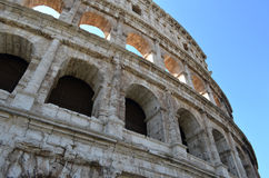 The Colosseum from the outside Stock Photography