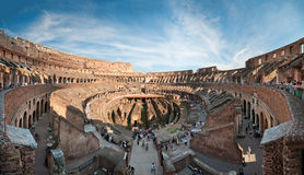 Colosseum panorama Stock Images