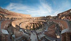 Colosseum Panorama Stockbilder