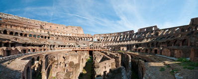 Colosseum Panorama Stockfoto