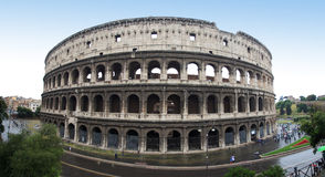Colosseum panorama Royalty Free Stock Photography