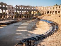 Colosseum, Pula, Croatia Stock Photos