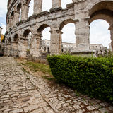 Colosseum in Pula, Croatia Royalty Free Stock Image