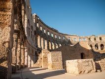 Colosseum Pula, Kroatien Royaltyfria Foton