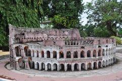 Colosseum-Replik lizenzfreies stockbild