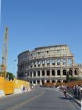 Colosseum rodeó construyendo el trabajo Fotografía de archivo libre de regalías