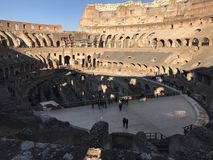 Colosseum - Rom lizenzfreie stockfotos