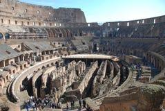 Colosseum, Rom, altes Rom, Amphitheatre, Markstein, Struktur stockbild