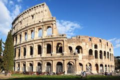 Colosseum in Rom, Italien lizenzfreies stockbild