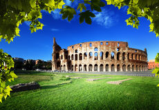Colosseum in Rom, Italien Lizenzfreie Stockbilder