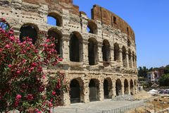 Colosseum in Rom, Italien stockfoto