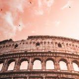 Colosseum Rom: magische Atmosphäre Lizenzfreie Stockfotografie
