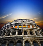 Colosseum a Roma Fotografia Stock