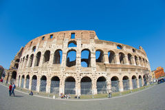Colosseum Roma. Colosseo Colosseum at Roma Europe  by fisheye Royalty Free Stock Images